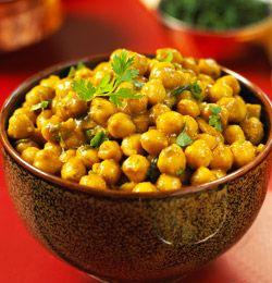 Går du for en kjøttfri dag, må du prøv denne indiske kikertretten. Her er oppskriften.