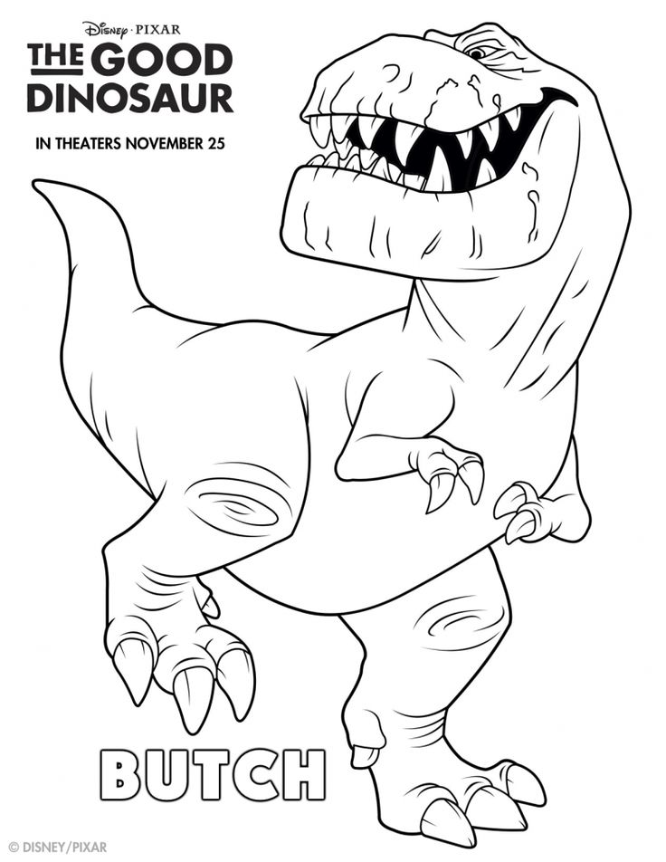 the good dinosaur coloring pages - Disney Dinosaur Coloring Pages