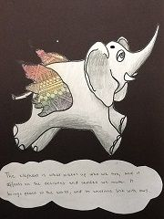 Kids discovering their meaning of 'Elephants Have Wings