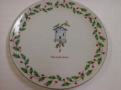 Lenox Holiday 12 Days of Christmas Two Turtle Doves 9 inch Dinner Plate & 181 best Lenox Holiday images on Pinterest | Fiesta party Holiday ...