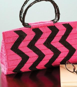 Yarn Clutch - Plastic Canvas