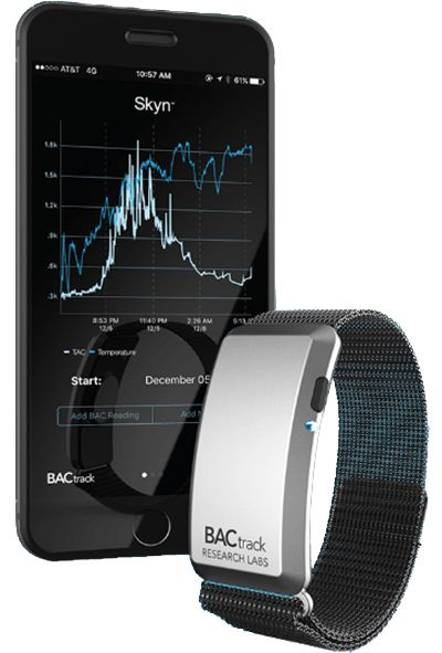 CES 2017: Bactrack knows if you've had a few too many drinks