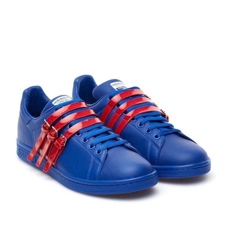 Raf Simons X Adidas. Stan Smith Strap sneakers