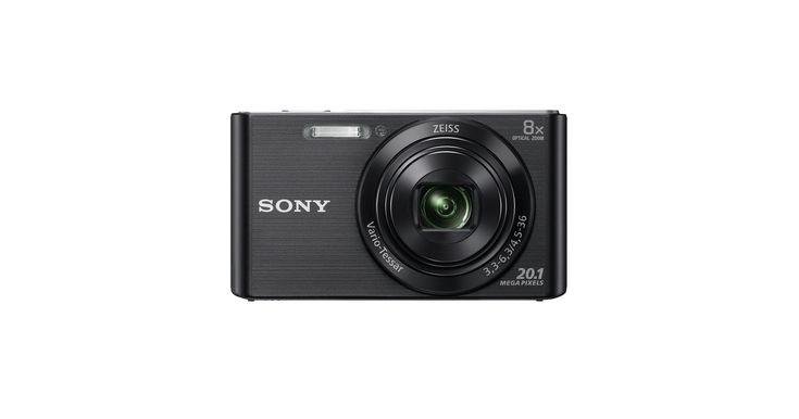 Sony Cámara compacta W830 con zoom óptico de 8x
