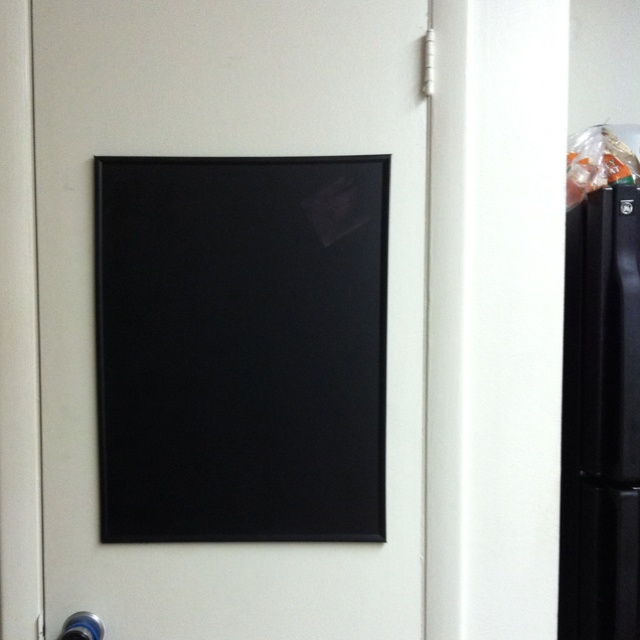 homemade chalkboard for the kitchen all you need is a. Black Bedroom Furniture Sets. Home Design Ideas