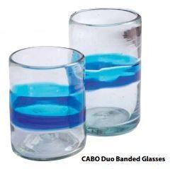Turquoise/Cobalt Tumblers