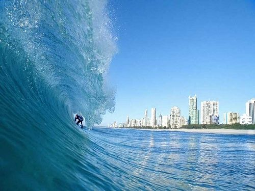 What Surfers Paradise is best known for ... the Surf! Gold Coast, Australia