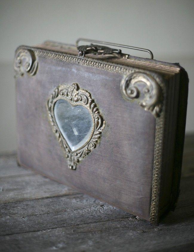 antique victorian album. $ 285.00, via Etsy.