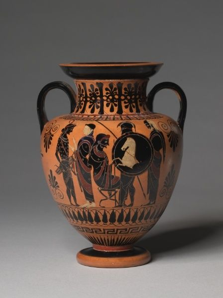 Amphora (Wine Jug), 520-510 BC Greece, Athens, 6th Century BC