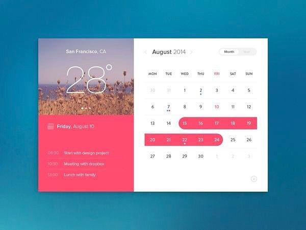 Simple and flat calendar PSD. This PSD freebie was designed by Andrée Afonso and can be found in graphicsbay.com - - - - - #app #appdesign #design #designer #dribbble #behance #iosdesign #iosinspiration #iosinterface #iphonedesign #iphoneinspiration #iphoneinterface #mobiledesign #mobileinspiration #mobileinterface #ui #ux #userinterface #userexperience #uidesign #uxdesign #interfacedesign #wireframe #digitaldesign #webdesign #materialdesign #minimalistdesign #visualdesign…