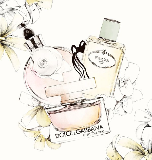VOGUE JAPAN - Scent Of Romance by Spiros Halaris, via Behance