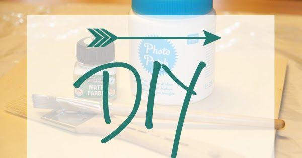 """Heute habe ich den ersten """"Do it yourself""""-Post auf dem Blog. Ich bin ein großer DIY-Fan, allerdings schaffe ich es viel zu selten, wirklic..."""