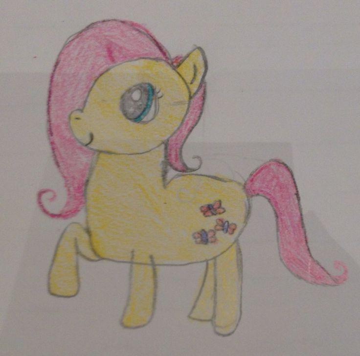 My little pony! Fluttershy is so adorbs