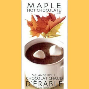 Maple Hot Chocolate...Yum Yum Yummy :-) Had bought one of these when ...