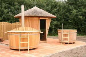 ::: Pooltech ::: Producten : Sauna Ayak Arctic Buitensauna