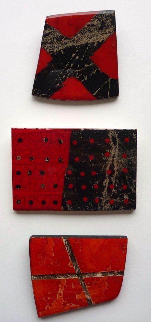 Printmaking on plaster artist Kathy Boyle