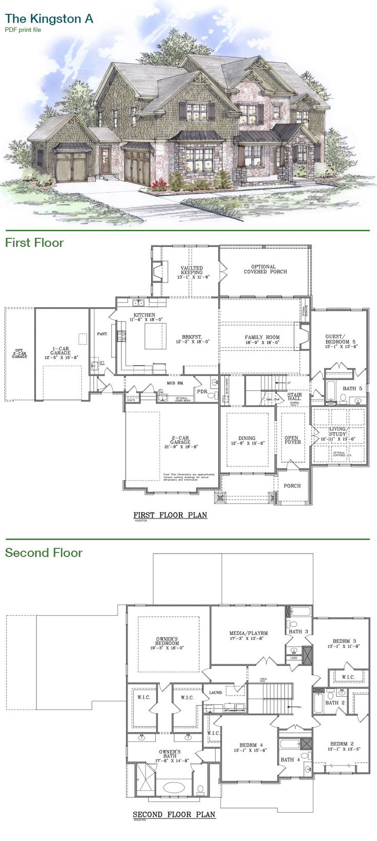 Home construction project plan
