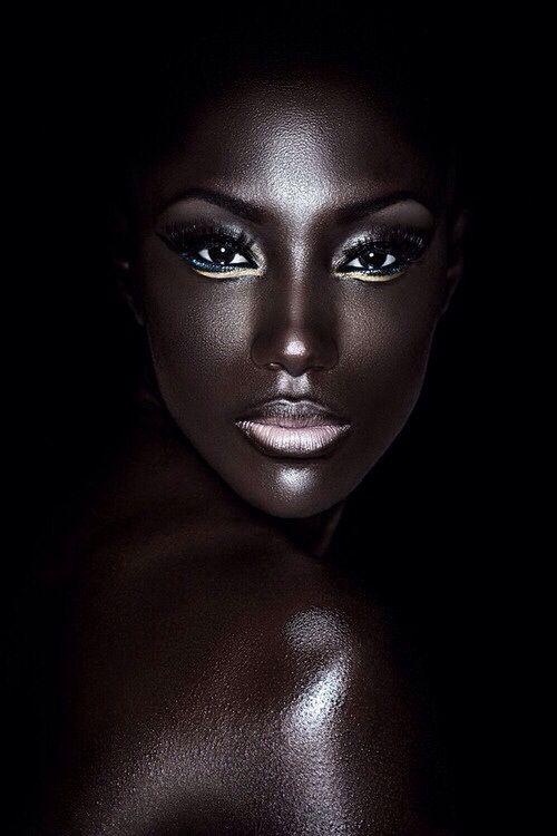 ebony skin