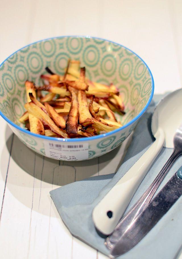 Parsnip fries/ pastinaak frieten