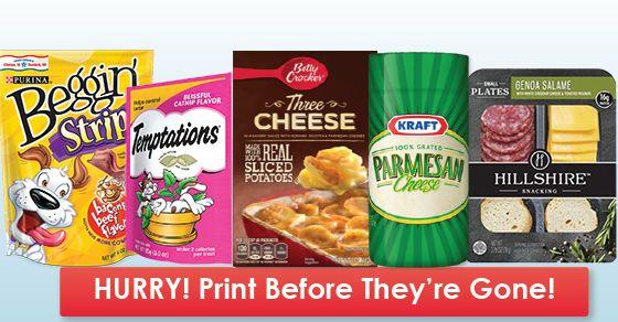 Last Chance! Print Coupons from Kraft, Hillshire Farm, Yoplait & More