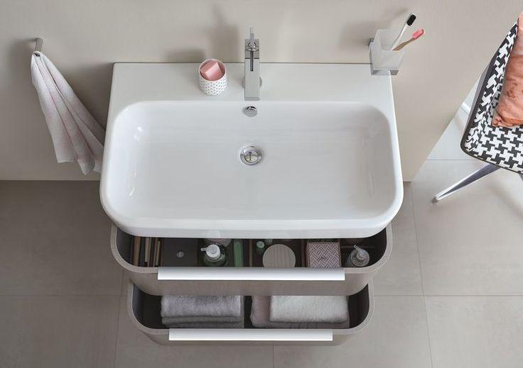 MyHome zmienia się w Internity Home Duravit and Upstairs bathrooms - happy d badezimmer