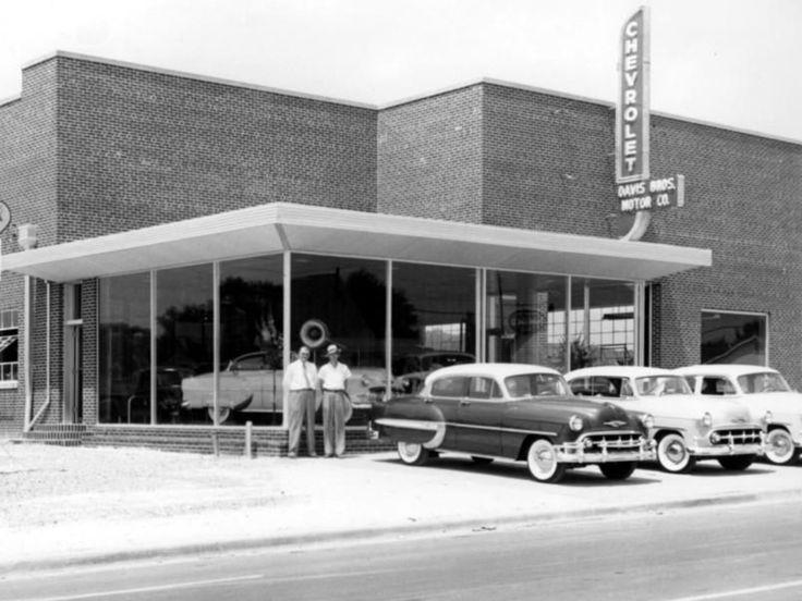 1953 Davis Bros Motor Co., Chevrolet Dealership