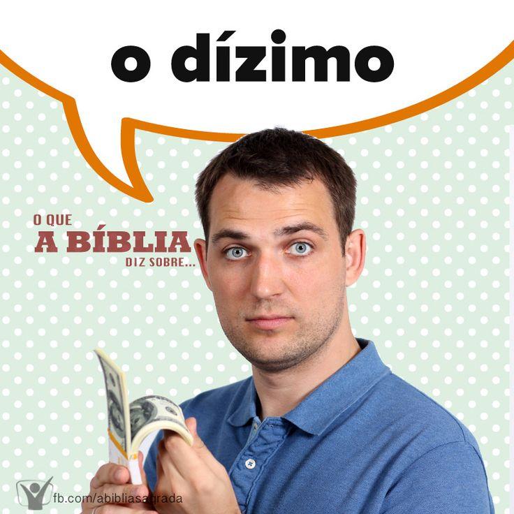 """""""Trazei todos os dízimos à casa do Tesouro, para que haja mantimento na minha casa; e provai-me nisto, diz o SENHOR dos Exércitos, se eu não vos abrir as janelas do céu e não derramar sobre vós bênção sem medida."""" (Malaquias 3:10 RA) Para saber mais, acesse http://biblia.com.br/perguntas-biblicas/"""