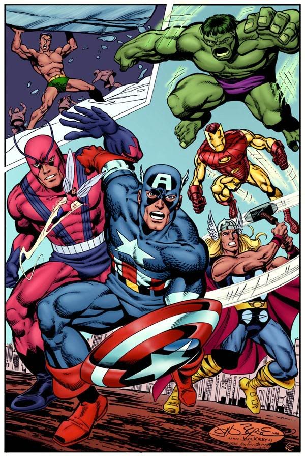 Marvel Malvorlagen Marvel Superhero The Marvel Super: Avengers Photo 785669-avengers_classic_1_super.jpg