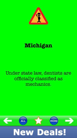Silly michigan laws