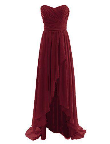 Diyouth Long High Low Bridesmaid Dresses Sweetheart Formal Evening Gowns Burgundy Size 2 Diyouth http://www.amazon.com/dp/B00LQMRCXO/ref=cm_sw_r_pi_dp_c2xQub09XDYE6