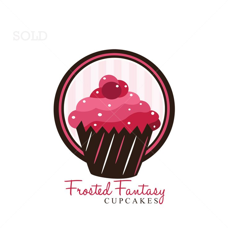 22 best images about cupcake logos on pinterest
