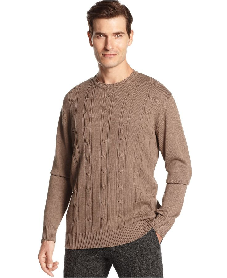 Mens Non Cashmere Sweaters Cotton Knits on oscar de la renta sweater men s brown