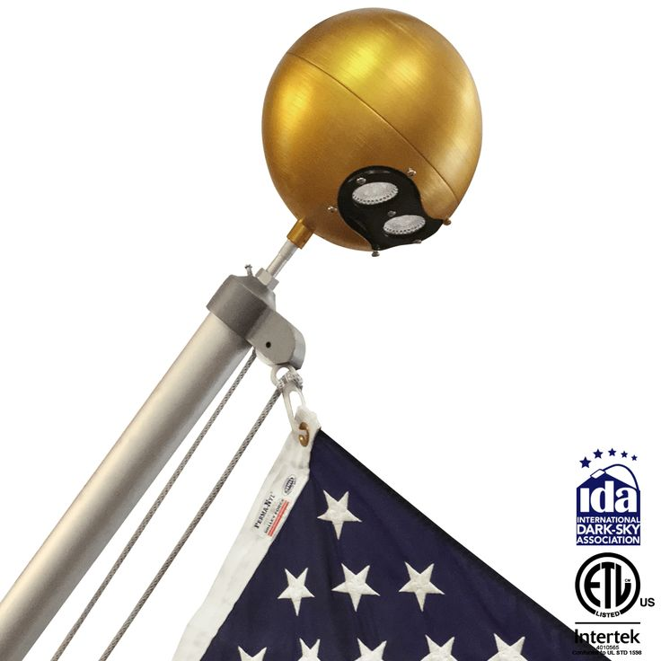 Outrigger Stationary Beacon #FlagpoleWarehouse #Internal #Flagpole #Beacon #Lighting #IDA #ETL #Outrigger #Stationary