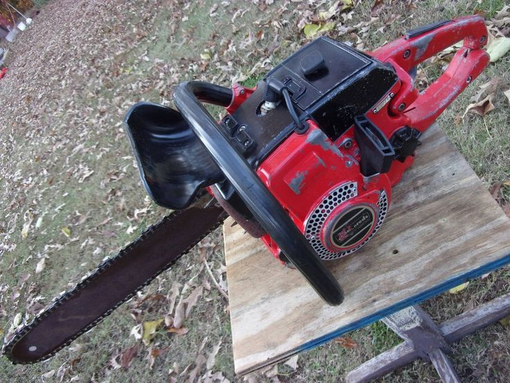 8 best woods images on pinterest chainsaw tools and stihl chainsaw vtg jonsered 52 gas chainsaw bar chain runs good working saw logging repair part greentooth Images