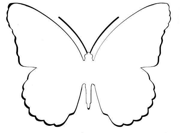 Tarjeta de agradecimiento con forma de mariposa for Sobres de goma eva