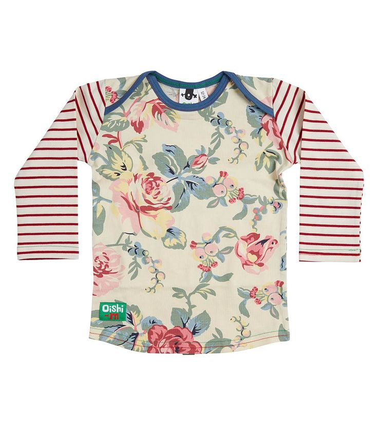 Cup and Saucer LS T Shirt, Oishi-m Clothing for Kids, Winter 2018, www.oishi-m.com