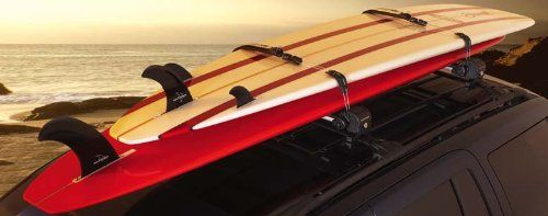 Inno Universal Mount Locking Surfboard Rack for Car, Truck, or SUV