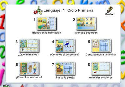 Lenguaje para el primer ciclo de primaria