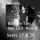#Ticket  2 Tickets Luke Bryan Little Big Town & Dustin Lynch 6/10/16 Jiffy Lube Live #deals_us