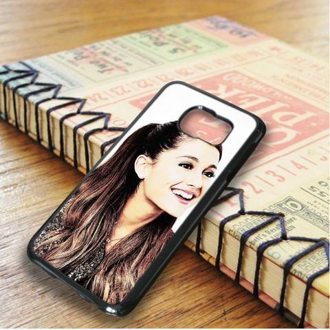 Ariana Grande Cute Smile Samsung Galaxy S6 Edge Case