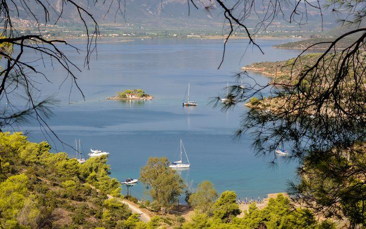 Russian Bay, Poros island
