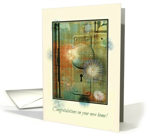 Congratulations - New Home - Colourful - Joyful card