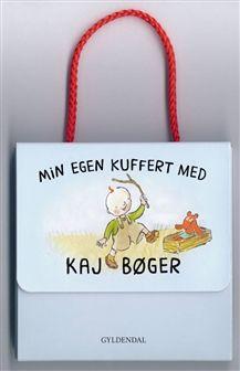 Min egen kuffert med Kaj bøger af Mats Letén
