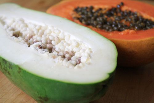 Green papaya - good to know //favorite Thai flavor staple
