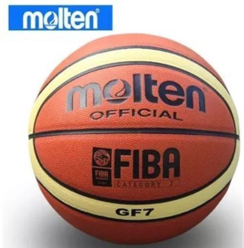 Balls 21208: Molten Basketball Ball Gf7 Pu Leather Indoor Outdoor Training Equipment Size 7 -> BUY IT NOW ONLY: $34.99 on eBay!