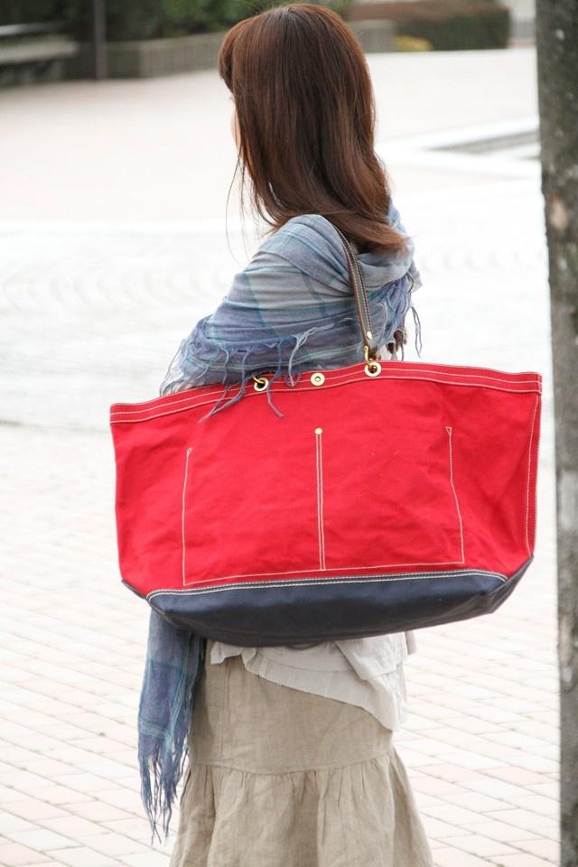 木の庄帆布-PAR4 帆布バッグトートバッグ 販売価格:19,950円(税込)