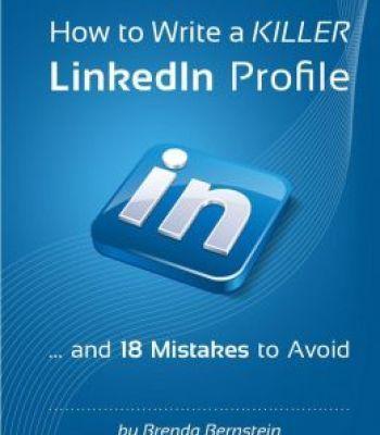 How To Write A Killer Linkedin Profile Pdf