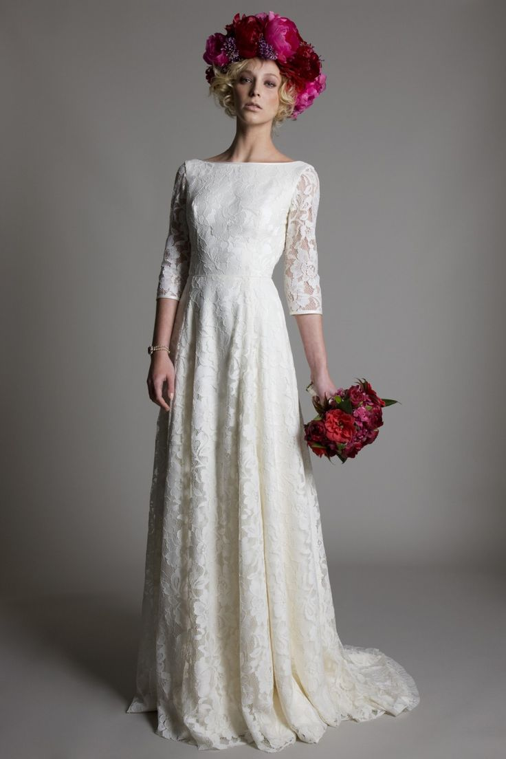 Halfpennylondon Bridal Wedding Dresses Lace Vintage London
