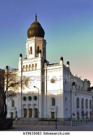 sinagoga, Kecskemet Ampliar Foto      Hungria