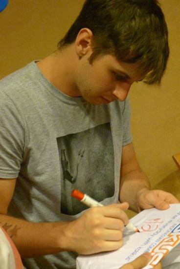 Mark Foster #autograph
